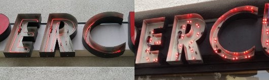 LED Conversion before & after