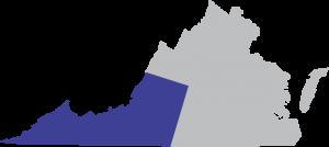 June 2014- We Work in Your Town- Roanoke map