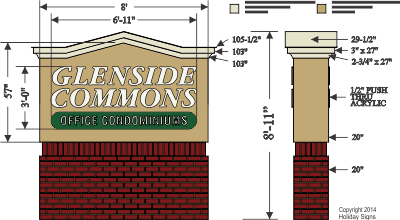 www.holidaysigns.com-chester-va-sign-designers-architectural-signage-push-thru-graphics-letters