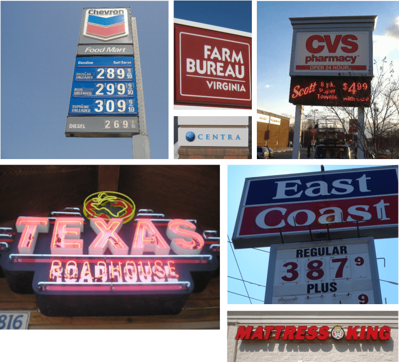 We Work In Your Town-Makers of Custom Electric Signs in Lynchburg, VA