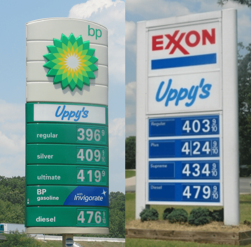 Uppys convenience store sign upgrade project va