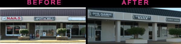 sign renovation examples-rockwood tenant signs